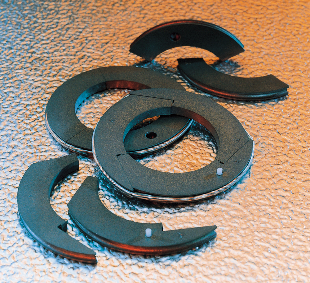 Special Polymer Alloy for High Duty Gas Compressor Piston and Rod Seals Image